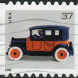 Postage stamp printed in USA, shows Toy Taxicab — Stock Photo #37238649