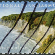 Postage stamp printed by Germany, shows the Jasmund National Park — Stock Photo