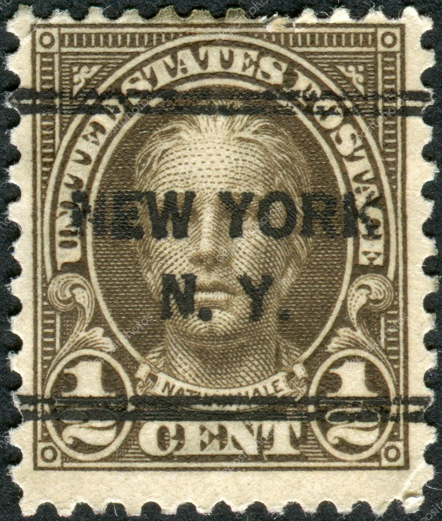 Postage stamps printed in usa precancel new york ny for New york state architect stamp