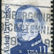 Foto Stock: Postage stamp printed in USA, shows Americauthor, legislator, officer, surveyor, early superintendent of US Military Academy at West Point, Alden Partridge