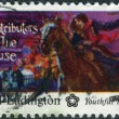 Stock Photo: Postage stamp printed in USA, AmericBicentennial Contributors to Cause, shows Sybil Ludington