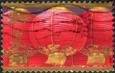 Postage stamp printed in the USA, dedicated to the Lunar New Year 2008 - Year of the Rat — Stock Photo