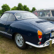 Stock Photo: Two-door coupe Volkswagen Karmann Ghia, rear view