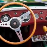 Постер, плакат: Cab two door roadster sports car Austin Healey Sprite