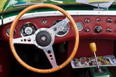 Cab two-door roadster, sports car Austin-Healey Sprite — Stock Photo