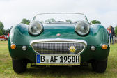 The two-door roadster, sports car Austin-Healey Sprite — Stock Photo