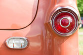 The rear brake lights two-door coupe Pontiac Star Chief, First generation (1954) — Stock Photo