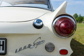 The rear brake lights two-door coupe Auto Union 1000 Sp — Stock Photo