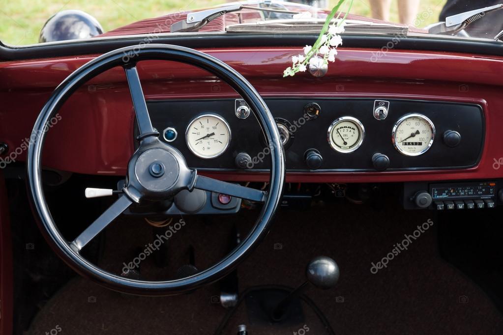 interior cabin italian compact car fiat 500 topolino 1939 stock editorial photo s kohl. Black Bedroom Furniture Sets. Home Design Ideas