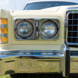 Stock Photo: Headlamp Full-size car Ford LTD (Americas)