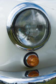 Headlamp two-door roadster Mercedes-Benz 190SL — Stock Photo