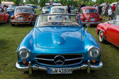 The two-door roadster Mercedes-Benz 190SL — Stock Photo