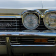 Stock Photo: Headlamp Full-size automobile Chevrolet ImpalHardtop Coupe