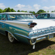Stock Photo: Full-size automobile Oldsmobile 98 (Ninety-Eight), rear view