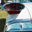 Stock Photo: Rear brake lights Full-size automobile Oldsmobile 98 (Ninety-Eight)