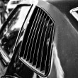 Stock Photo: Ventilation grilles Mid-size car Pontiac Grand Am, (black and white)
