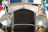 The front part of the car DeSoto Six Convertible Coupe (Chrysler) — Stock Photo