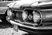 Full-size automobile Oldsmobile 98 (Ninety-Eight), black and white — Stock Photo