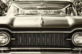 Full-size automobile Oldsmobile 98 (Ninety-Eight), sepia — Stock Photo