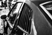 Ventilation grilles Mid-size car Pontiac Grand Am, (black and white) — Stock Photo