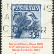 Stock Photo: AUSTRALI- CIRC1978: Postage stamp printed in Australia, is dedicated to National Stamp Week, shows AustraliNo. 95 on Album Page, circ1978