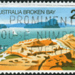 AUSTRALIA - CIRCA 1976: Postage stamp printed in Australia shows Broken Bay, New South Wales, circa 1976 — Stock Photo #40367539