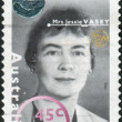 AUSTRALI- CIRC1995: Postage stamp printed in Australia, shows founder and President of War Widows' Guild of Australia, Jessie Mary Vasey, circ1995 — Stock Photo #40367859