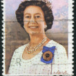 Stock Photo: AUSTRALI- CIRC1980: Postage stamp printed in Australia, dedicated to 54th anniversary of birth Queen Elizabeth II, circ1980