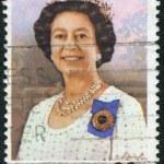 AUSTRALIA - CIRCA 1980: Postage stamp printed in Australia, dedicated to 54th anniversary of the birth Queen Elizabeth II, circa 1980 — Stock Photo #40370313