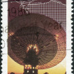 AUSTRALIA - CIRCA 1986: Postage stamp printed in Australia, devo — Stock Photo