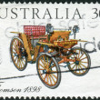 Stock Photo: AUSTRALI- CIRC1984: Postage stamp printed in Australia, shows Australian-made vintage cars: Thomson, 1898, circ1984