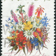 "Stock Photo: AUSTRALI- CIRC1990: Postage stamp printed in Australishows Special Occasions and inscription ""Thinking of You"", circ1990"