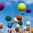 Unusual installation dedicated to 775th anniversary of Berlin's Schlossplatz — Stock Photo #41036665