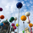 Stock Photo: Unusual installation dedicated to 775th anniversary of Berlin's Schlossplatz