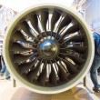 ILBerlin Air Show 2012. Stand of MTU Aero Engines AG - is Germaircraft engine manufacturer. — Stock Photo #41218601