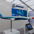 "ILA Berlin Air Show 2012. Stand of ""Boeing"" — Stock Photo"