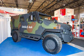 ILA Berlin Air Show 2012. Eagle V 4x4 armoured vehicle personnel carrier — Stock Photo