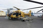 ILA Berlin Air Show 2012. Military helicopter Eurocopter EC635 — Foto de Stock