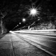 Tunnel. Black and white. — Stock Photo #42063333