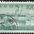 FINLAND - CIRCA 1963: Postage stamp printed in Finland, shows a southern port in Helsinki, circa 1963 — Stock Photo #42065119
