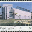 Stock Photo: AUSTRI- CIRC2007: Postage stamp printed in Austria, shows Museum of Modern Art (Essl Museum Kunst der Gegenwart), circ2007