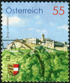 AUSTRIA - CIRCA 2009: Postage stamp printed in Austria, shows Burg Landskron, circa 2009 — Stock Photo