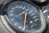 Old speedometer — Stock Photo
