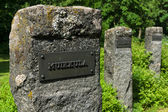 Muikkula - Finland area. Monument to those killed in the wars from the 19th to 20th centuries — Stock Photo