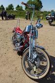 オートバイのハーレー デビッドソン カスタムチョッパー — ストック写真