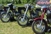 Motorcycles Jawa — Stock Photo