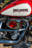 Motorcycle Engine Harley Davidson Heritage Softail Classic — Stock Photo