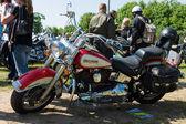 Motorcycle Harley Davidson Heritage Softail Classic — Stock Photo