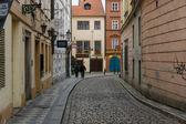 De straten van het oude praag — Stockfoto