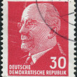 Постер, плакат: German Communist politician and statesman Walter Ulbricht